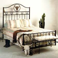 wrought iron bedroom furniture. Plain Furniture Frontier Western Style Wrought Iron Headboard  Custom Patterns  GMCB4000  Throughout Bedroom Furniture T