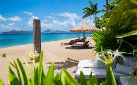 Beach Photo Paradise Beach Nevis Luxury Caribbean Villas