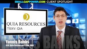 Quia Resources CEO Interview with Yannis Banks - YouTube