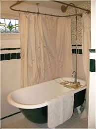 shower rod for claw foot tub claw foot tub shower rod clawfoot tub shower curtain rod
