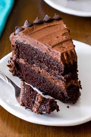 triple chocolate layer cake the fudgiest homemade chocolate cake ever recipe on sallysbakingaddiction