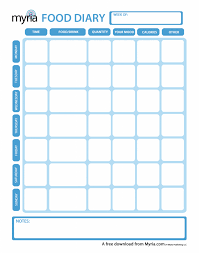 food diary printable food diary printable free printable daily 1309834