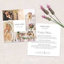 bridal shoot flyers wedding photography price list template marketing advertising