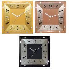 decorative wall clock square shape