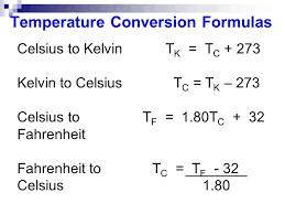 temperature conversion celsius to kelvin equation jennarocca