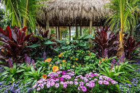 visitors will experience a lush flower show in the garden s enid a haupt conservatory evoking the gardens and landscapes that inspired o keeffe