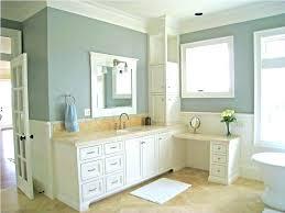 Sherwin Williams Bathroom Paint Bathroom Paint Colors Beige Floor Using  Light Grey Beach Themed And Nice Built In Vanity Bathroom Paint