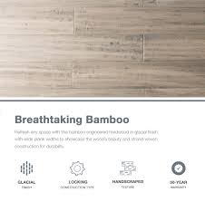 natural floors glacial bamboo hardwood flooring