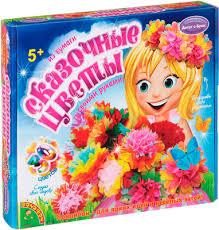 Набор из бумаги <b>Bondibon Сказочные цветы</b> купить в интернет ...