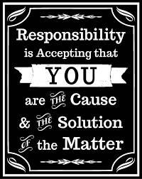 Image result for accept responsibility