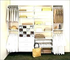 modest custom closets closet organizer adjule shelving costco