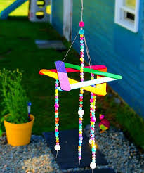 Rainbow Wind Chime For Kids Gardens