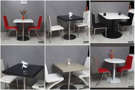 Fast Food Restaurant Table And Chair Cafeteria Table And Chair - Coffee chairs and tables