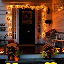 Indoor Halloween Lights 1 2m 10 Led Pumpkin String Lights Lantern Fairy Light String