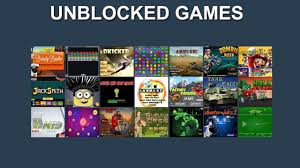 here is a list of some good unblocked games to play at
