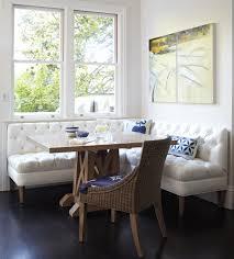 Banquette Bench Kitchen Corner Banquette Bench Kitchen Midcentury With White Bench Cushion