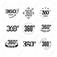 360 度ビュー記号アイコンを設定