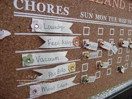 Megumis Stampin Retreat Family Chore Chart