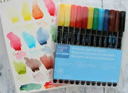 Artist Loft Sketch Markers Color Chart 5 Reasons To Try The Artists Loft Watercolor Markers