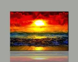 sunset wall art painting canvas wall art picture print for home decoration living room photo 1 sunset wall art  on sunset wall art canvas with sunset wall art sunset canvas wall art sunset sailboats metal wall