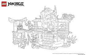 Coloriage Le Palais De Ninjago Lego L L L L L L L L L L