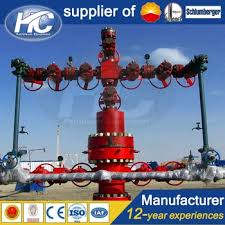 Oilfield or gas field wellhead and christmas tree equipment / surface tree  / oil rig christmas