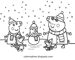 Spring coloring pages kids showers page sheets of the season honkingdonkey uncategorized for image. Free Coloring Pages Printable Pictures To Color Kids Drawing Ideas Cartoon Peppa Pig Printable Easy Coloring Pages For Kids To Color