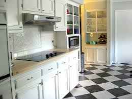 black and white tile floor kitchen. Kitchen Wonderful Tile Floor Designs On With White About Inspiring Dining Room Trends Black And W