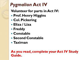 pyg on act iv objective ppt  5 pyg on