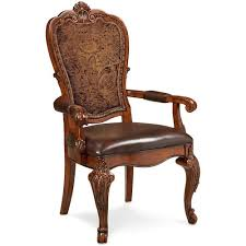 Back Home Furniture Fascinating ART Furniture Inc Old World Upholstered Back Arm Chair