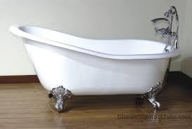 57 cast iron slipper clawfoot tub