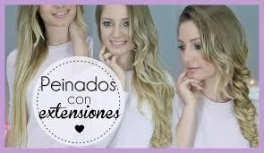 3 Peinados F Ciles Con Extensiones Y C Mo Colocarlas Youtube