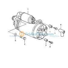 Starter Motor 22222006 For Volvo Penta D5a D7a D7c Starter Motor Volvo Motor