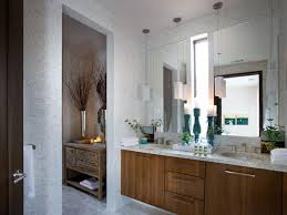 ... Pendant Lights Over Bathrooms Vanity Ideas: Amazing Bathroom Lighting,  Master Bathroom Of The HGTV Green Home 2012 Located In Serenbe, ...