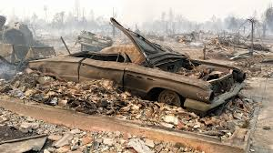 reduced to ashes classic cars burned in california fires add to the devastation