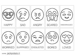 Emozioni Kit Didattico Con Emoticons Jack Potato