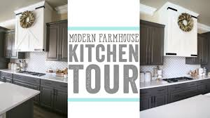 Modern Farmhouse Kitchen Tour Youtube