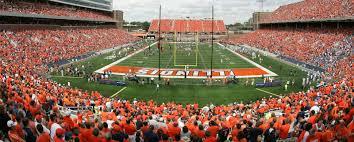 University Of Illinois Football Seating Chart Memorial Stadium Illinois Tickets Champaign Stubhub