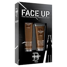 tigi bed head for men face up gift set description