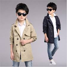 2017 brand boys coat trench autumn spring boys school long sleeve casual double ted coat fashion outerwear jacket trench children autumn spring trench