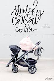 stretchy car seat cover pattern free