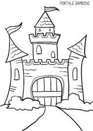 Disegni Di Castelli Da Stampare E Colorare Gratis Portale Bambini