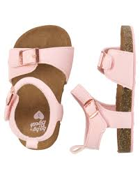 Pearl Detail Sandals for Little Girls | 3 Colors | Sandals, Pearls ...