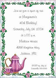Party Borders For Invitations Tea Borders Free Clip Art Party Tea Party Invitations