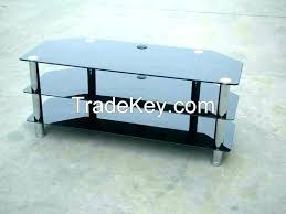 3 tier glass tv stand clear glass stand 3 shelf stand 3 tier glass stand 2