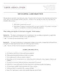 Objectives Of Resume – Resume Sample Web