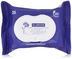 klorane make up remover biodegradable wipes with soothing cornflower 25 count