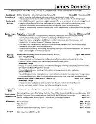 Extracurricular Activities On A Resume Ehow