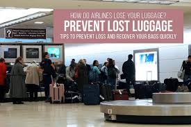How Airlines Lose Your Luggage Prevent Lost Luggage