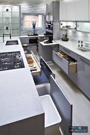 Clean Seamless And Serene Modern High Gloss Kitchen Design The